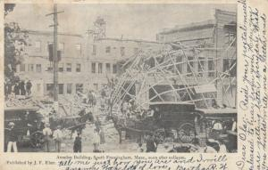 SOUTH FARMINGTON , Massachusetts, 1906 ; Amsden Bldg Collapse