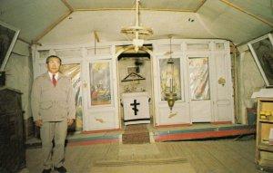 EKLUTNA , Alaska , 1950-60s ; St. Nicholas Russian Orthodox Church