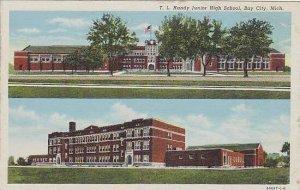 Michigan Bay City T L Handy Junior High School