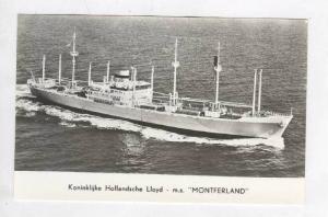 Koninklijke Hollandsche Lloyd - m.s.  MONTFERLAND , 1956