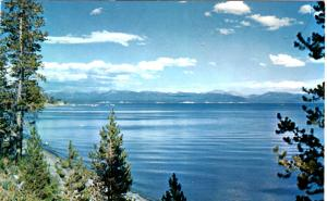 Haynes P28 SERIES #537 Yellowstone Lake, Yellowstone National Park
