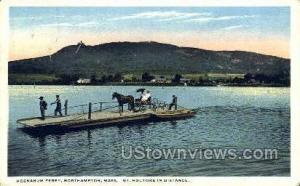 Hockanum Ferry Mt Holyoke MA 1917