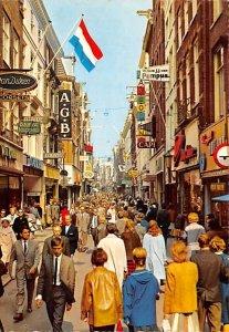 Kalverstraat Amsterdam Holland 1966
