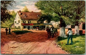 1900s Philadelphia, Pennsylvania Postcard THE OLD MERMAID TAVERN, Germantown