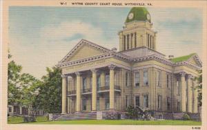 Virginia Wytheville Wythe County Court House