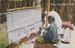 Indian Chief GeronimoNavajo Indian Blanket Weaver