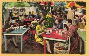 USA Dining in the West Patio The Original Farmers Market Hollywood 01.57