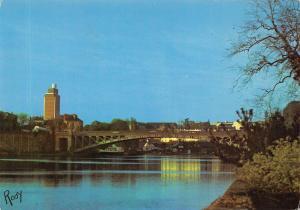 France Nantes L'Erdre au Pont de la Motte Rouge Bridge