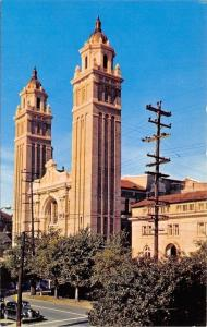 Seattle Washington~St James Roman Catholic Cathedral~1950s Postcard