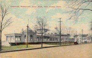 NEW HAVEN, Connecticut, 1915 ; Colonnade Restaurant , Savin Rock