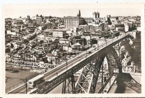Postal 036630 : Porto. Pont D. Luiz I et Vue Partielle