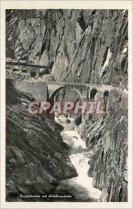 Postcard Modern Teufelsbr?cke mit Schollenenbahn