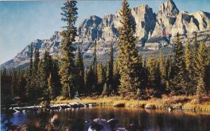 Canada Alberta Banff Mount Eisehower Banff National Park
