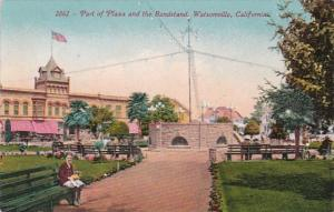 California Watsonville Part Of The Plaza and The Bandstand