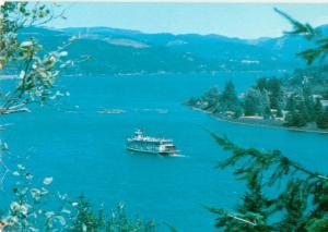 Postcards Sternwheeler Ferry Tour Columbia George # 776A