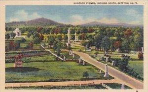 Hancock Avenue Looking South Gettysburg Pennsylvania