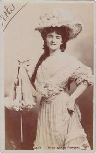 RP: Theatre & Movie Actress MISS AGNES FRASER , PU-1905 TUCK