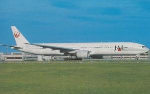 Boeing 777-346 JA8941 of Japan Airlines at Tokyo Haneda Airport Postcard