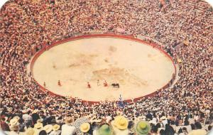 Bullfight Corrida De Toros Tarjeta Postal Bullfighting Plaza Mexico, Mexico W...