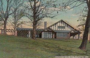 LA FAYETTE, Indiana, 1913; Country Club