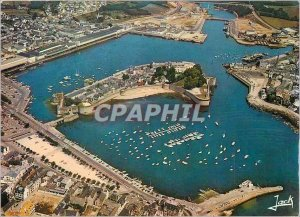 Postcard Modern Concarneau The harbor before the walled town and the fishing ...