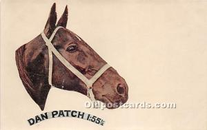 Dan Patch 1.55 1/4 Looks Like Sticker on card? Unused