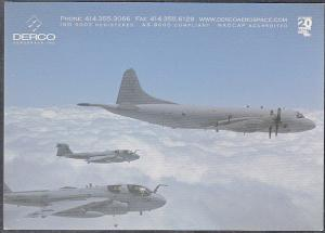 Advertising P. C. Derco Aeospace Modern Military Aircraft