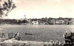 Cienfuegos Cuba Scenic View Real Photo Antique Postcard J80377