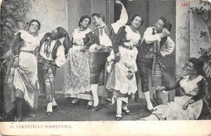 Italy Sorrento Folklore Folk Tarantella Sorrentina Traditional Dance Costumes