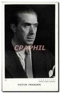 Old Postcard Victor Francen