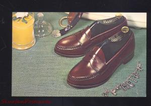 MIDLAND TEXAS BARNES PELLETIER SHOE STORE ADVERTISING POSTCARD BASS SHOES