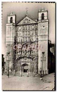 Old Postcard Valladolid Fachada Igtestu of San Pablo Church St Paul Facade of...