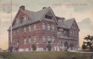 Collegiate Institute , SARNIA , Ontario , Canada , PU-1907