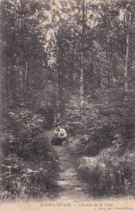 Chemin De La Cote, Raon-l'Étape (Vosges), France, 1900-1910s