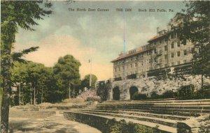 Albertype Buck Hill Falls Pennsylvania North East Corner 1930s Postcard 7068