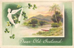 Dear Old Ireland Saint Patrick's Day Postcard Unused