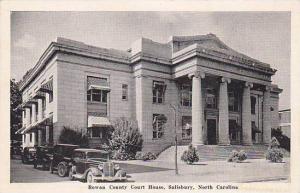 Rowan County Court House, Salisbury, North Carolina, PU-1947