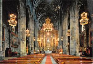 Spain Bilbao Basilica de Nuestra Senora de Begona Interior