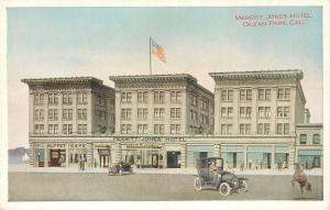 Ocean Park California~Merritt Jones Hotel~Grill~Buffet~Cafe~1910 Adv PC