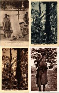 GABON, CENTRAL AFRICA 100 CPA Vintage Postcards pre-1960