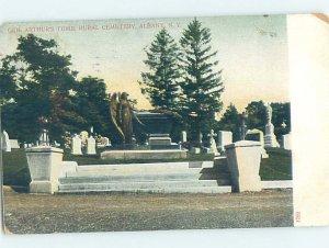 Pre-1907 MILITARY SCENE Albany New York NY AF9009