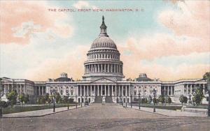 The Capitol Front View Washington D C