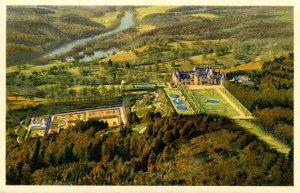 NC - Biltmore. Biltmore Estate, Aerial View