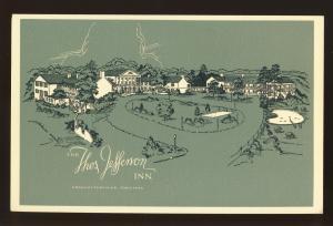 Charlottesville, Virginia/VA Postcard, Thos. Jefferson Inn