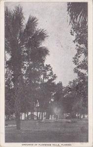 Florida Florence Villa Grounds At Florence Villa 1919