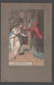 106887 LOHENGRIN Ortrud WAGNER Opera STASSEN Art NOUVEAU