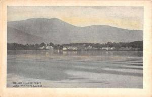 Melvin Village New Hampshire Lake Winnepesaukee Antique Postcard K30384