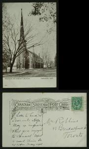 Western Methodist church Napanee Ont 1911