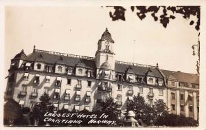 Grand Hotel, Christiana, Norway, Early Real Photo Postcard, Unused