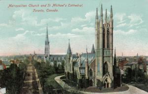 TORONTO , Ontario , Canada , 00-10s : Metropolitan Church & St Michael's Cathedr